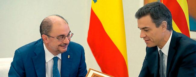 Aragón y País Vasco desacatan la España de las nacionalidades