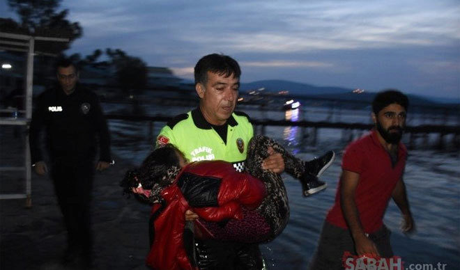 Mueren dos menores refugiados al volcar su barca en la costa turca de Bodrum, donde murió el pequeño Aylan