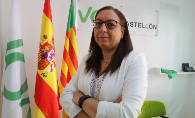 Llanos Massó, presidenta de Vox Castellón.