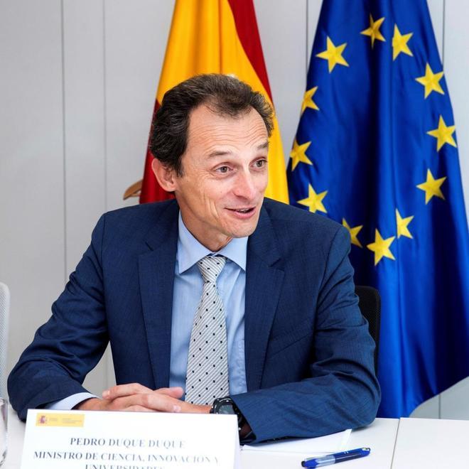El ministro de Ciencia y Universidades, Pedro Duque