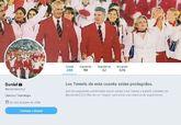 La cuenta de Twitter del jefe superior de la Policía en Navarra,...