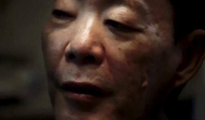 Imagen de Issei Sagawa en el documental Caniba.