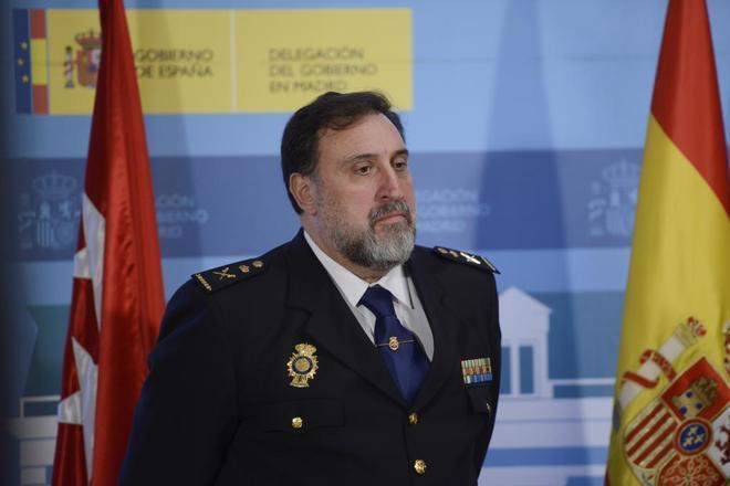 Germán Rodríguez Castiñeira, en un acto en la Delegación del Gobierno de Madrid en 2017.