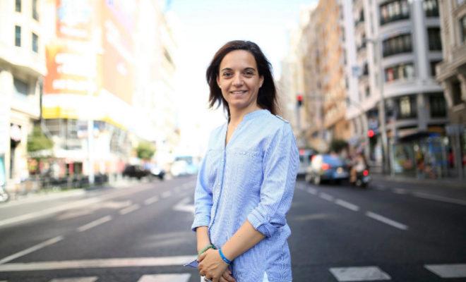 La alcaldesa de Getafe, Sara Hernández.