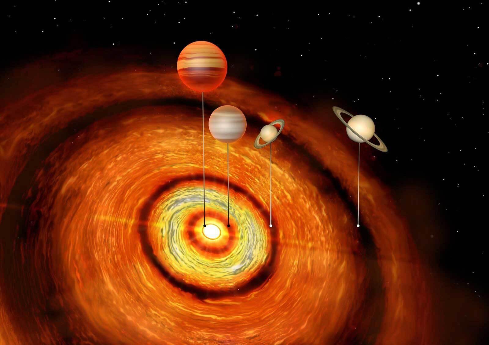 Récord De Planetas Gigantes En Un único Sistema Solar Ciencia
