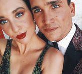Los actores, María Pedraza y Jaime Lorente publican una foto juntos.