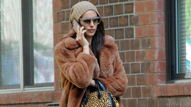 Irina Shayk por las calles de Nueva York.