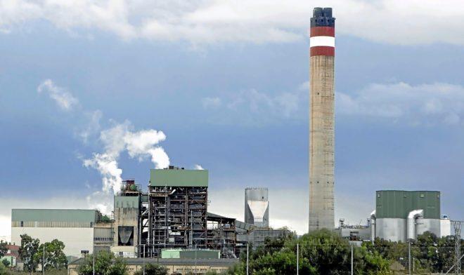 La central térmica de Es Murterar, ubicada en el municipio de Alcúdia.