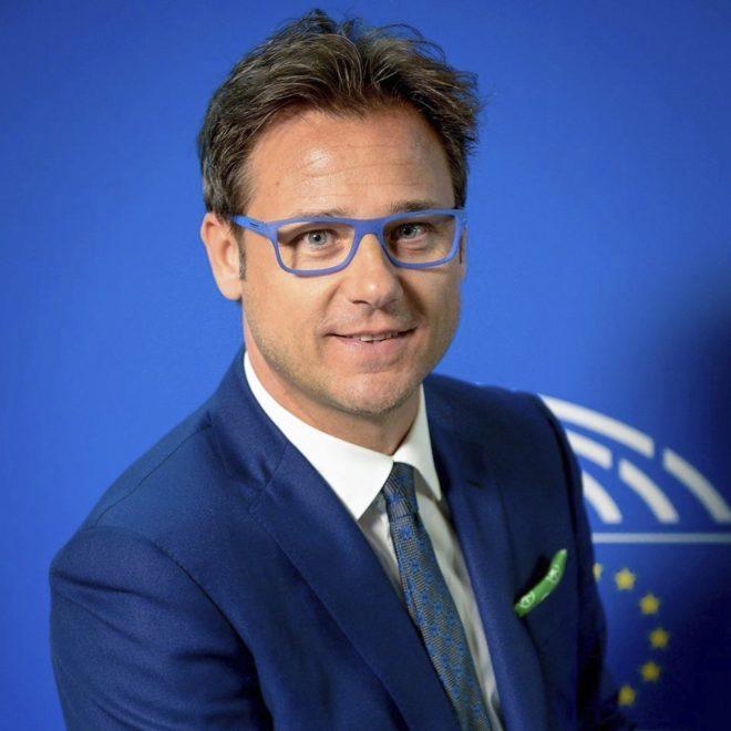 Angelo Ciocca, eurodiputado del partido Liga Norte de Italia.