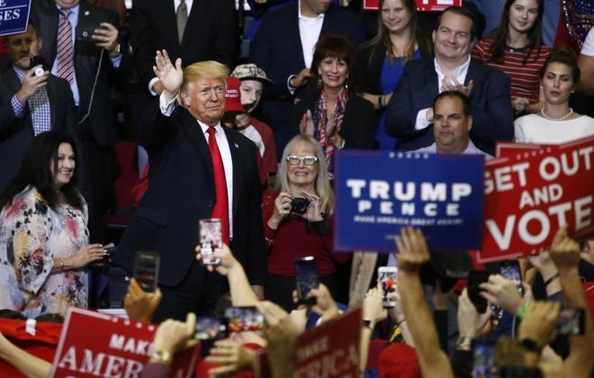 Los comicios del próximo 6 de noviembre son consideradas  un referéndum sobre las políticas de Donald Trump