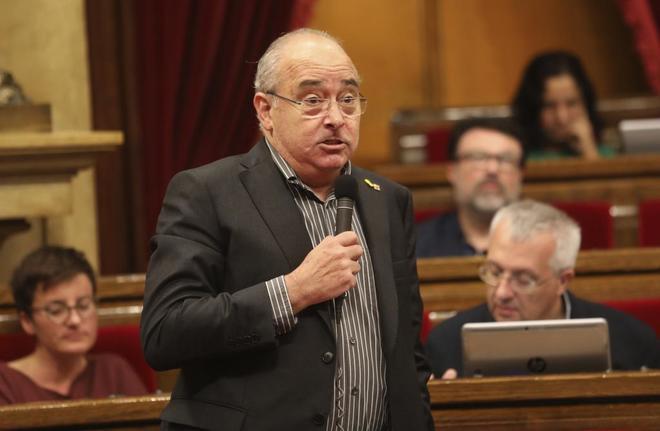 Josep Bargalló, consejero de Educación de la Generalitat.