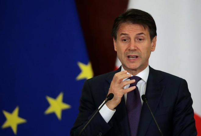 Giuseppe Conte, primer ministro italiano.