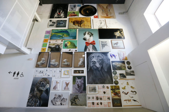 El arte denuncia la crueldad con los animales