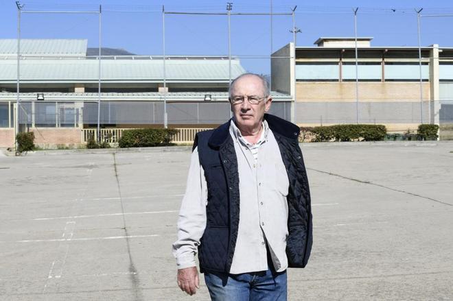 Rato, a su llegada a la prisión de Soto del Real.