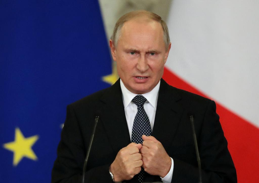 El presiente ruso, Vladimir Putin.