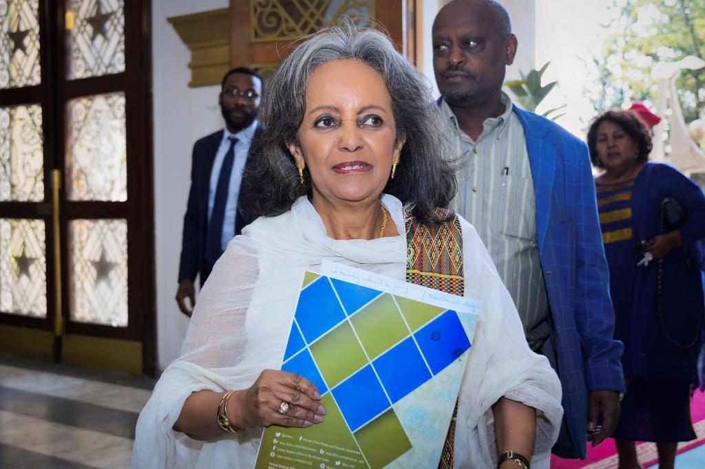 La nueva presidenta de Etiopía, Sahlework Zewde.