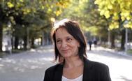 La candidata de Podemos a las elecciones gallegas, Carolina Bescansa