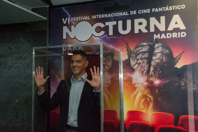 Don Mancini el creador de Chucky en la presentación de Nocturna.