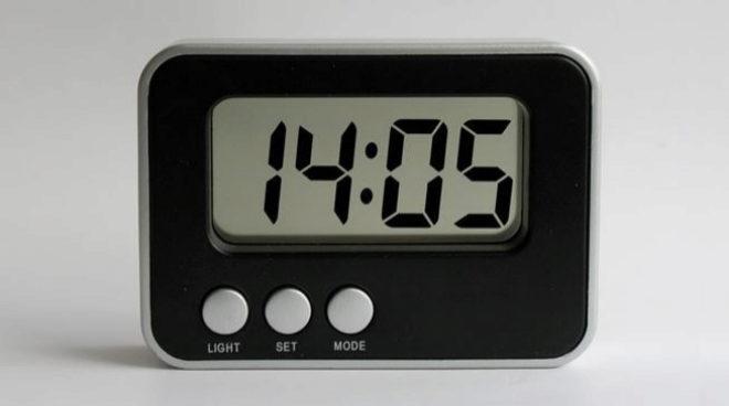 Imagen de un reloj para ilustrar el cambio de hora