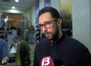 Josep Miquel Arenas, Valtonyc, en una entrevista.