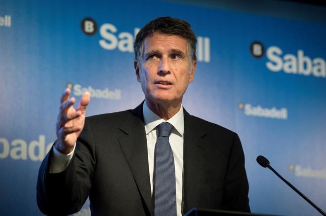 El consejero delegado del Banco Sabadell, Jaume Guardiola.