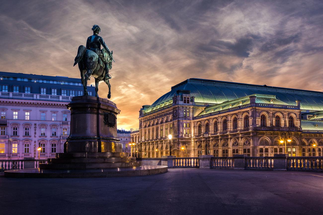 Una visita la capital de Austria, una ciudad imperial a orillas del...