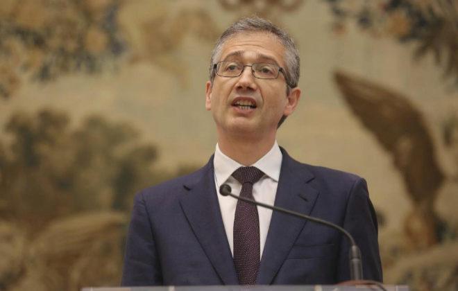 Pablo Hernández de Cos, gobernador del Banco de España, el día de su toma de posesión.