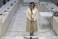 Claudia Patricia Díaz Guillén, enfermera del fallecid Hugo Chávez, el 24 de septiembre, en la Audiencia Nacional.