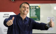 El candidato ultraderechista brasileño Jair Bolsonaro.
