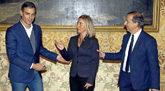 Pedro Sánchez, este sábado en Milán con la responsable de Política...