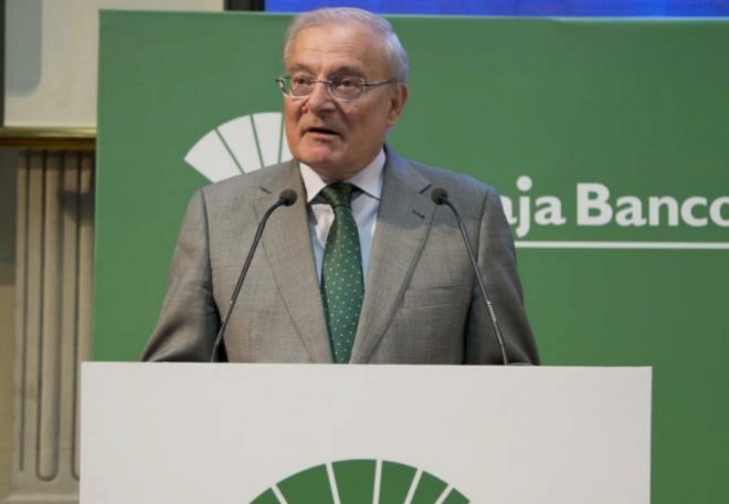 El presidente de Unicaja Banco, Manuel Azuaga.