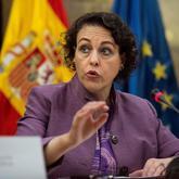 La ministra de Trabajo,  Migraciones y Seguridad Social, Magdalena...