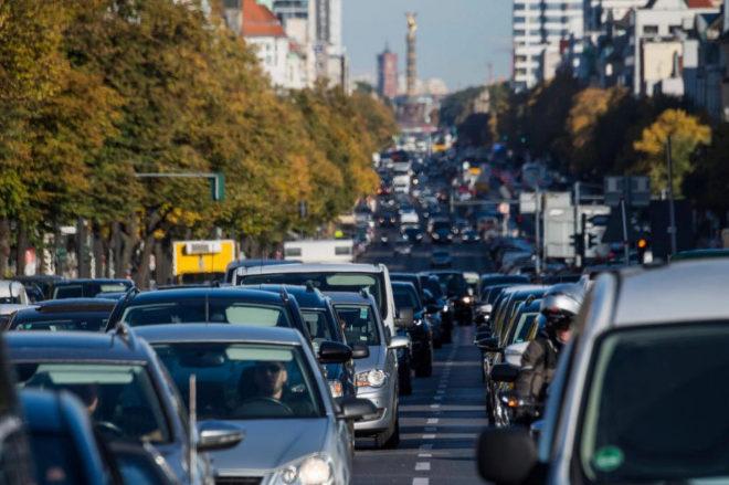Imagen del tráfico de Berlín