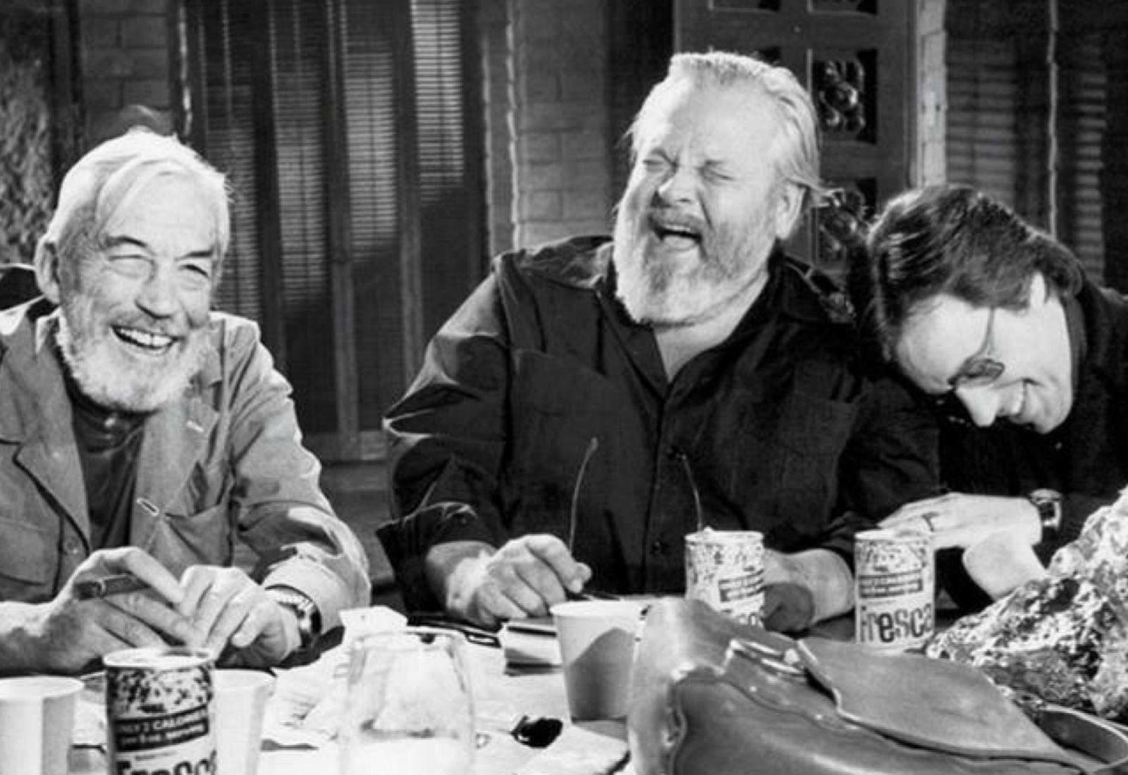 Fotograma de la película de Orson Welles, 'El otro lado del viento',...
