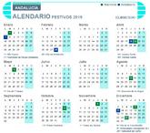 Calendario laboral de Andalucía 2019