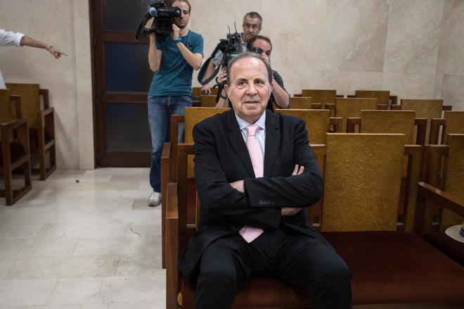 José María Rodríguez ante el juez.
