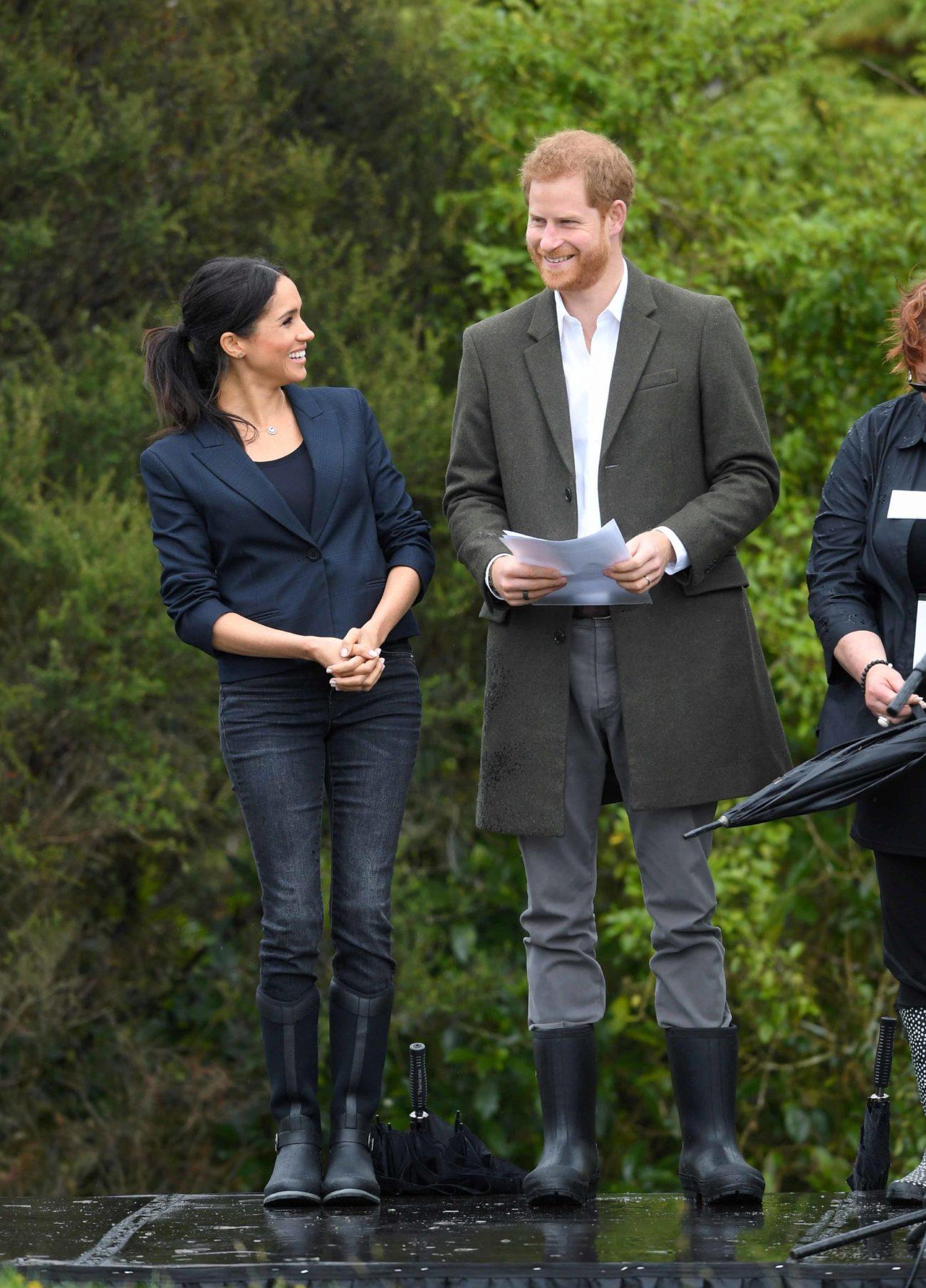 Los duques de Sussex han visitado un parque con 20 hectáreas...