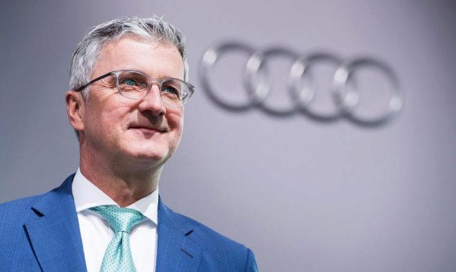 Rupert Stadler, cuando todavía era presidente de Audi
