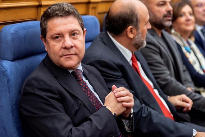 Emiliano García-Page, presidente de Castilla-La Mancha, en el Debate sobre el Estado de la Región.