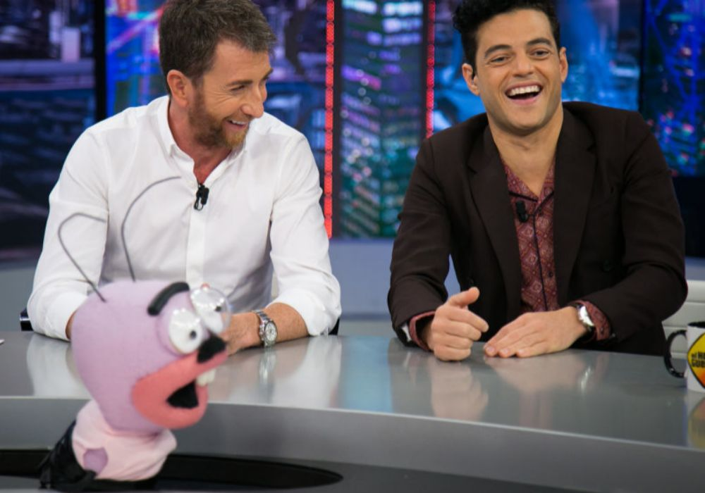 Pablo Motos entrevistando a Rami Malek en 'El Hormiguero'.