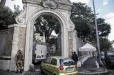 La Fiscalía de Roma analiza los huesos hallados en un local cercano a...