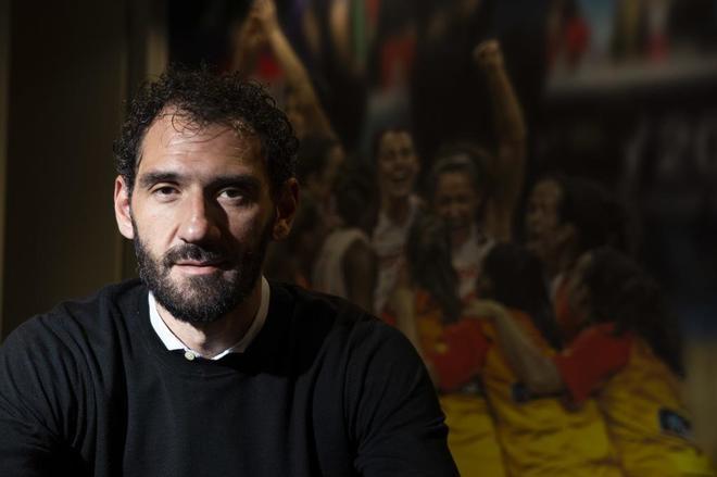 """Jorge Garbajosa: """"Empecé en el baloncesto porque no había botas de fútbol de mi talla"""""""