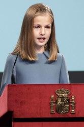 En el día de su cumpleaños L¡la Princesa de Asturias ha leído el...