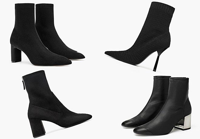 Super descuento zapatos clasicos textura clara Si quieres estilizar y alargar tus piernas, estos botines de ...