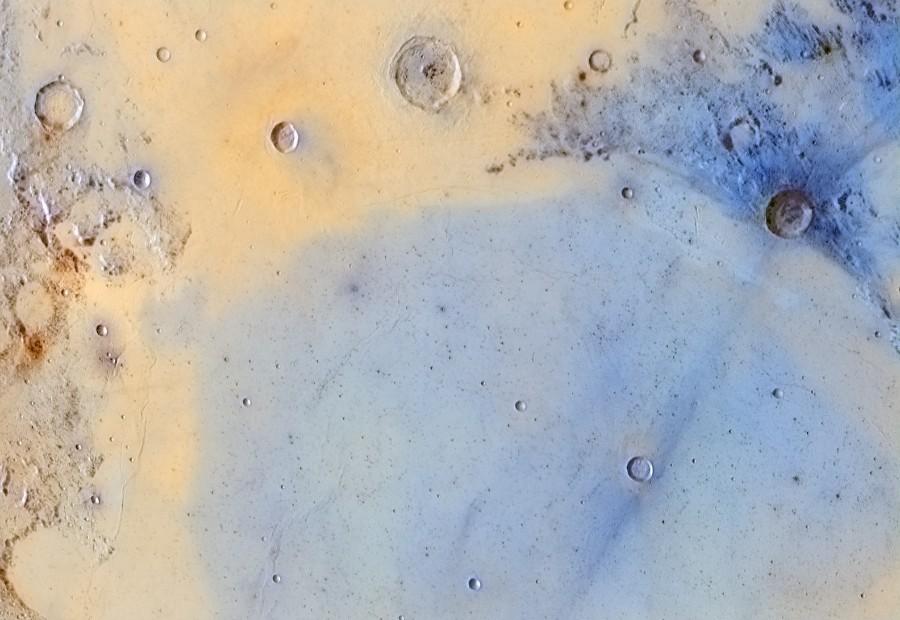 Cráteres de la Luna.