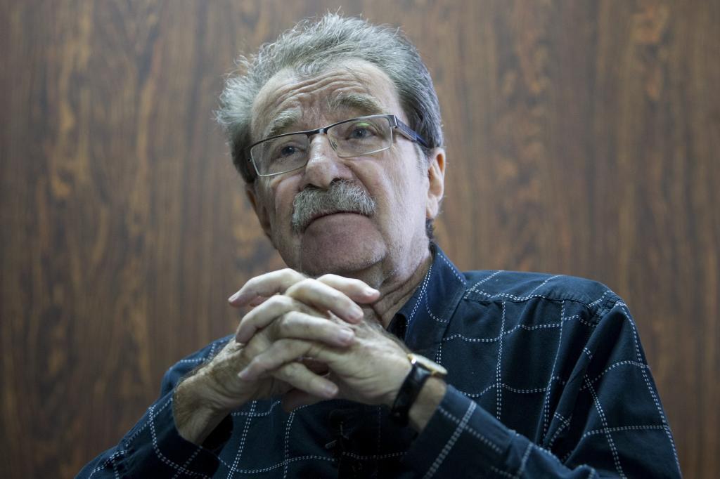 El político, economista y fundador del diario venezolano 'Tal Cual', Teodoro Petkoff'.