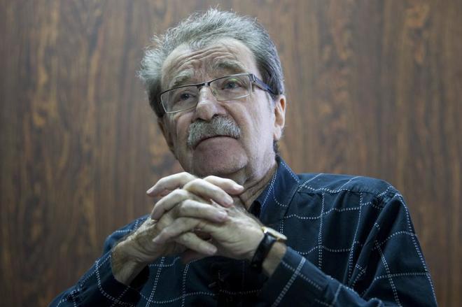 El político, economista y fundador del diario venezolano 'Tal Cual', Teodoro Petkoff.