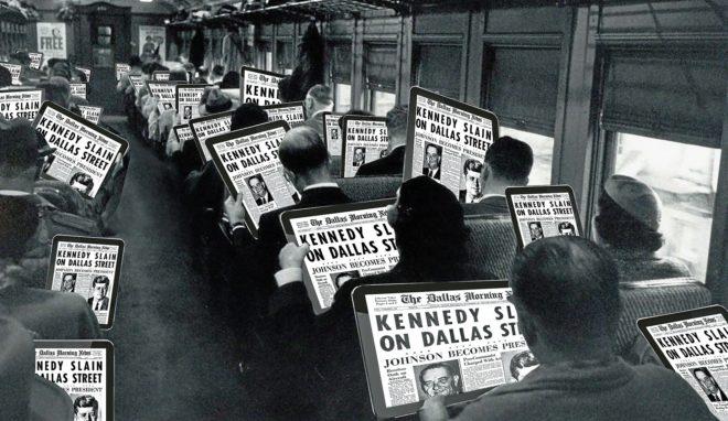 El viaje de la prensa en busca de un nuevo modelo de negocio
