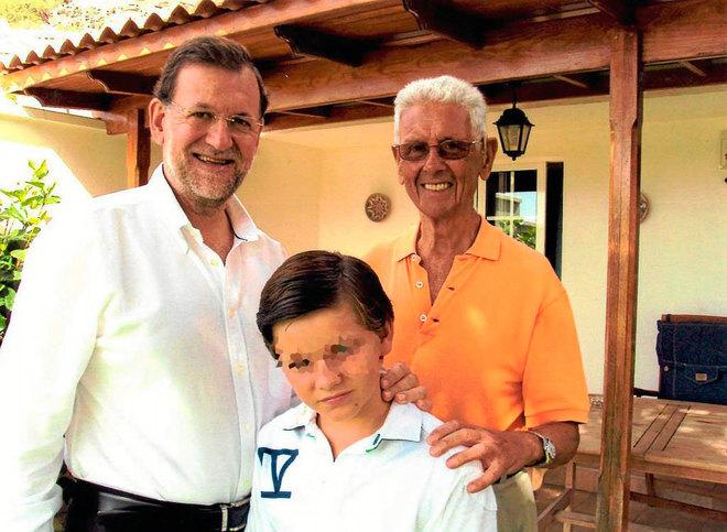 El ex presidente del Gobierno, Mariano Rajoy, en una imagen del año...