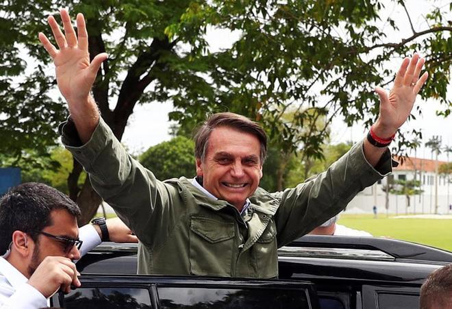 El nuevo presidente de Brasil, Jair Bolsonaro.